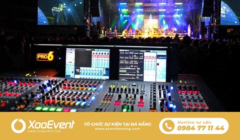 Xoo Event cho thuê âm thanh chuyên nghiệp tại Đà Nẵng